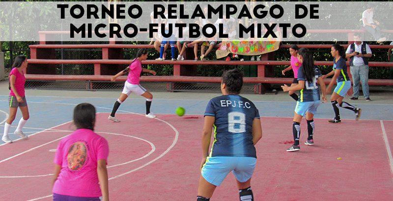 Torneo relámpago de Micro-futbol Mixto