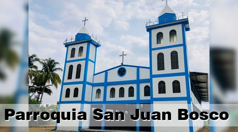 Construcción parroquia San Juan Bosco