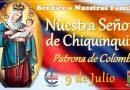 Hoy se celebra a la Virgen de Chiquinquirá, patrona de Colombia