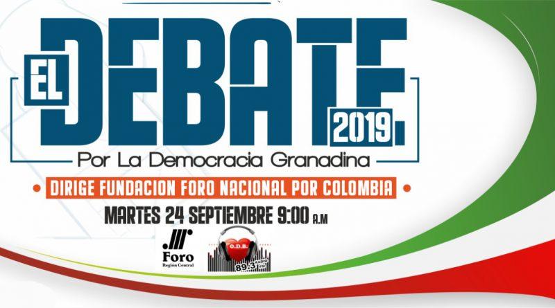 Debate de Candidatos a la Alcaldia en Granada Meta